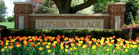 Luther Village Entrance